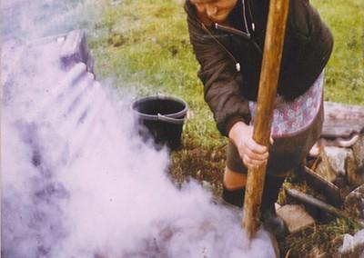 Lichen /crotal coloured fleece