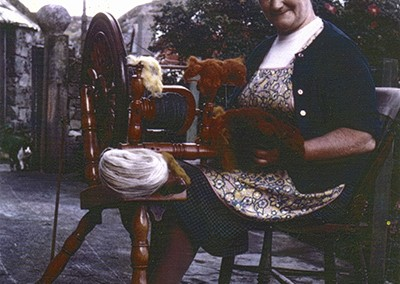Spinnning the wool