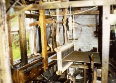 Marions wooden floor loom / beart mhor