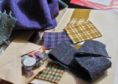 Harris Tweed samples