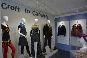 Harris Tweed graced the catwalks of the world.